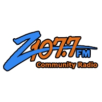 Logo of radio station KCDZ Z 107.7