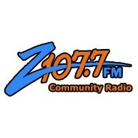 Logo de la radio KCDZ Z 107.7