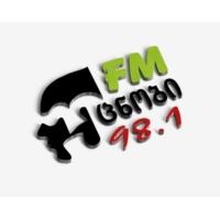 Logo de la radio რადიო უცნობი FM 98.1