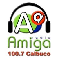 Logo de la radio Radio Amiga FM 100.7 Calbuco