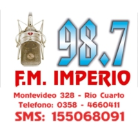 Logo of radio station FM Imperio 98.7
