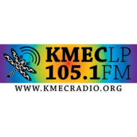 Logo of radio station KMEC 105.1