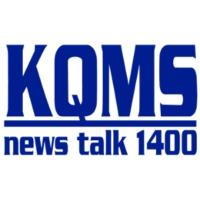 Logo of radio station KQMS AM