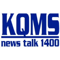 Logo of radio station KQMS AM