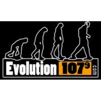Logo of radio station CFML-FM Evolution 107.9