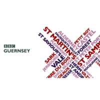 Logo of radio station BBC Radio Guernsey