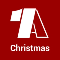 Logo of radio station - 1A Christmas -