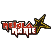 Logo of radio station Rock Rádio - Metalománie