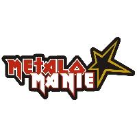 Logo of radio station Rock Rádio - Metalománie
