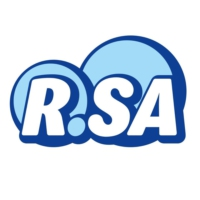 Logo of radio station R.SA