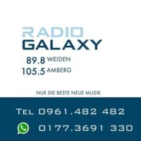 Logo of radio station Galaxy Amberg-Weiden