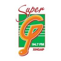 Logo de la radio XHGAP La Súper G 94.7 FM