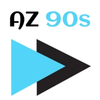 Logo of radio station A-Z 90s