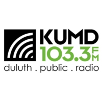 Logo of radio station KUMD 103.3 FM