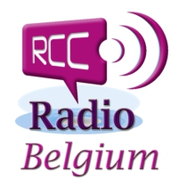 Logo of radio station RCC Radio Belgium