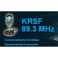 Logo of radio station KRSF 89.3