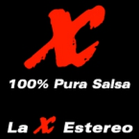 Logo of radio station La X Estéreo