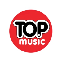 Logo of radio station Top Music