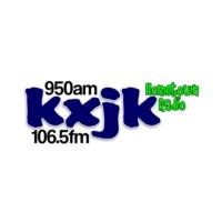Logo of radio station KXJK 950 AM