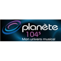 Logo of radio station Planete 104.5