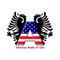 Logo de la radio Albanian Radio of USA