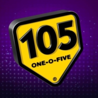 Logo of radio station my105 The Battle