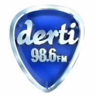 Logo of radio station Derti 98.6 FM