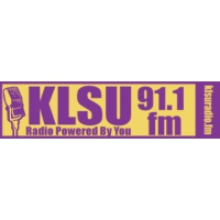 Logo of radio station KLSU