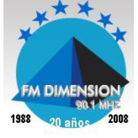 Logo de la radio Dimension 90.1 FM