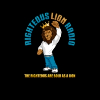 Logo de la radio Righteous Lion Radio (Qam Yasharahla)