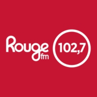 Logo of radio station 102,7 Rouge fm
