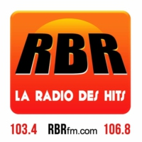 Logo of radio station RBR FM