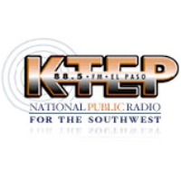 Logo of radio station KTEP University of Texas NPR 88.5 FM