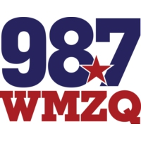 Logo of radio station 98.7 WMZQ