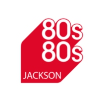 Logo of radio station 80s80s Michael Jackson