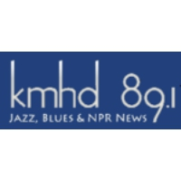 Logo of radio station KMHD