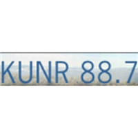 Logo of radio station KUNR 88.7
