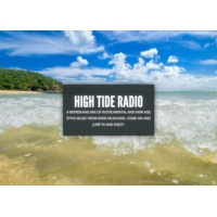 Logo of radio station High Tide Radio