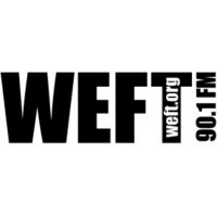 Logo of radio station WEFT