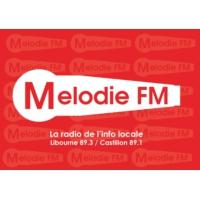 Logo de la radio Mélodie FM - Libourne