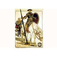 Logo of radio station Don Quichotte