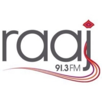 Logo of radio station Raaj FM