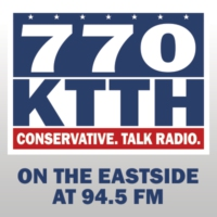 Logo of radio station KTTH AM 770