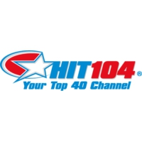 Logo of radio station HIT 104