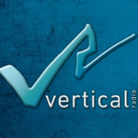 Logo of radio station Vertical radio