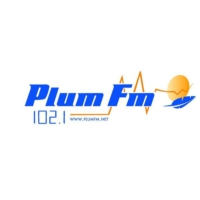 Logo of radio station Plum FM