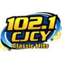 Logo de la radio 102.1 CJCY Classic Hits