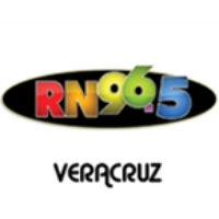 Logo of radio station XHRN 96.5 Veracruz