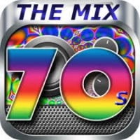 Logo of radio station The Mix 70s
