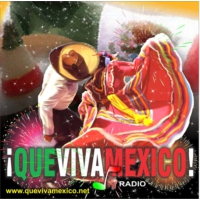 Logo of radio station Que Viva Mexico